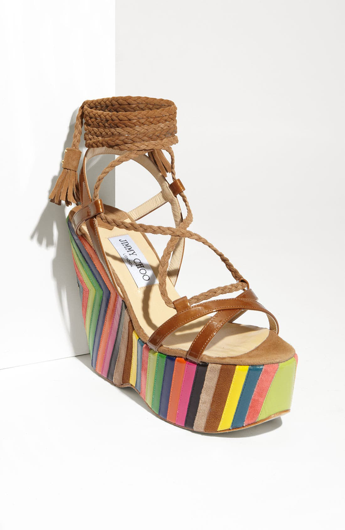 Alternate Image 1 Selected - Jimmy Choo 'Pearl' Wedge Sandal