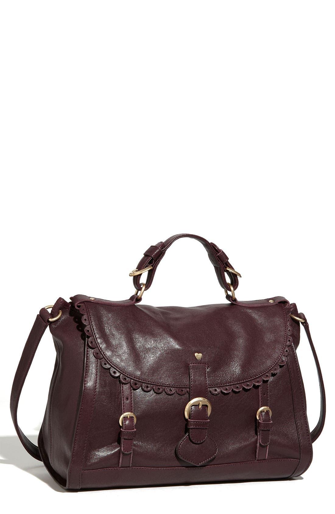 Alternate Image 1 Selected - See By Chloé 'Poya Vintage - Large' Leather Satchel