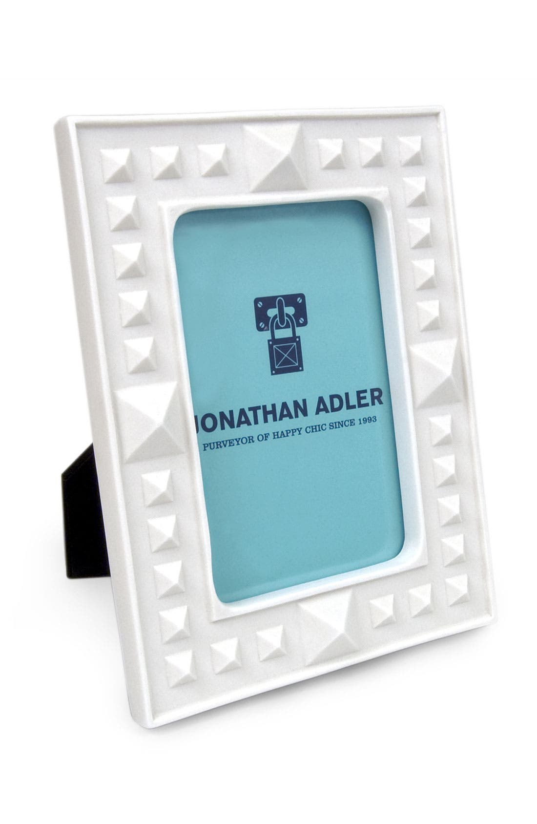 Alternate Image 2  - Jonathan Adler 4x6 Studded Porcelain Frame