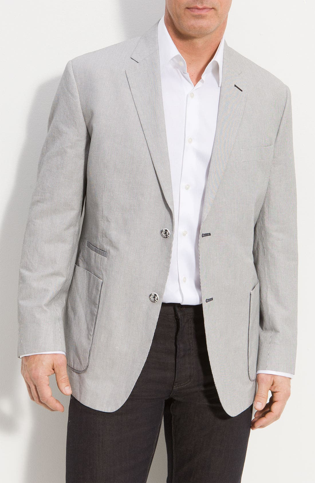 Main Image - Robert Graham 'Anchorage' Cotton & Linen Sportcoat (Online Only)