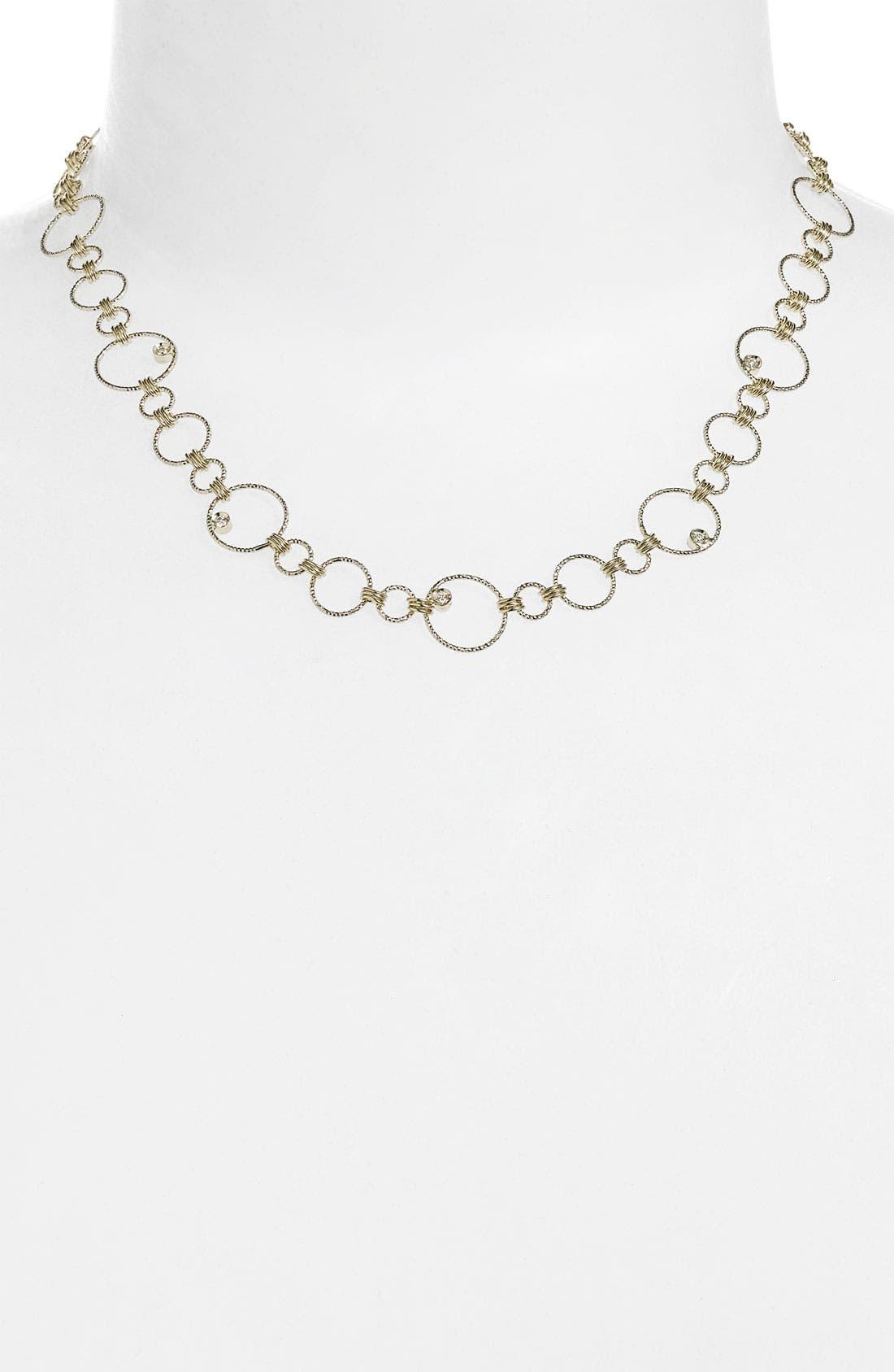 Alternate Image 1 Selected - Roberto Coin 'Moresque' Diamond Necklace
