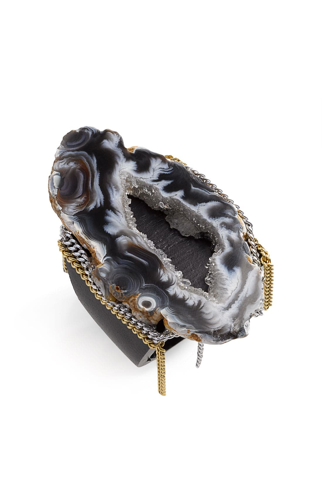 Alternate Image 1 Selected - Liz Larios Jewelry Black Ochoco Agate Ring