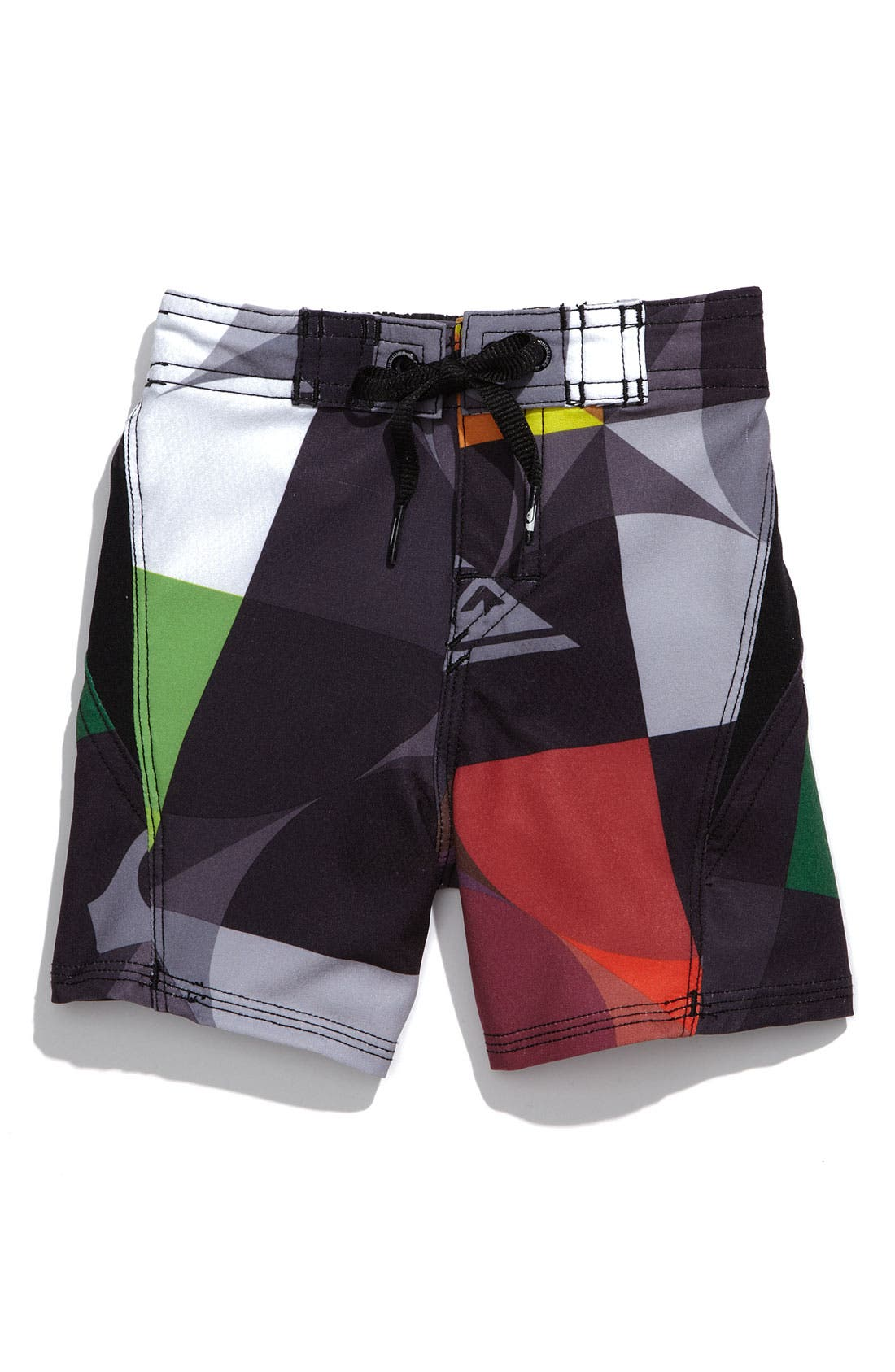 'Cypher Buzzed' Board Shorts,                         Main,                         color, Black