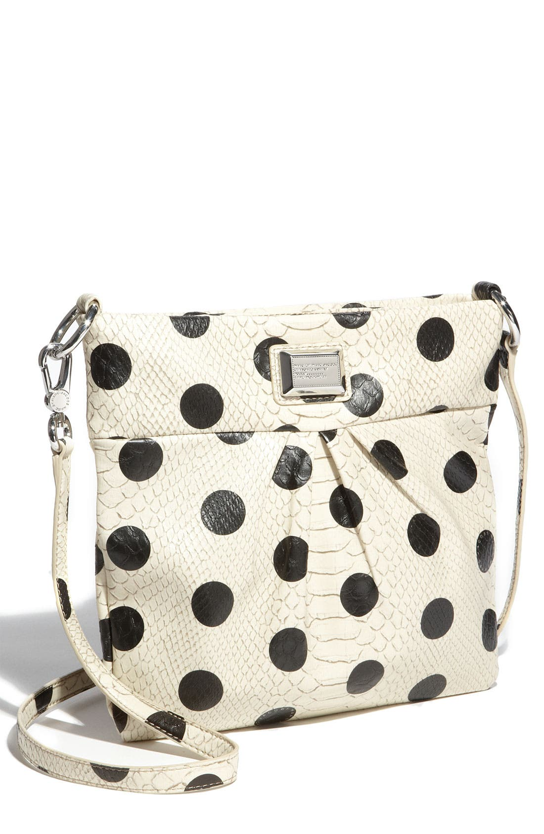 Alternate Image 1 Selected - MARC BY MARC JACOBS 'Dotty Snake - Sia' Faux Leather Crossbody Bag