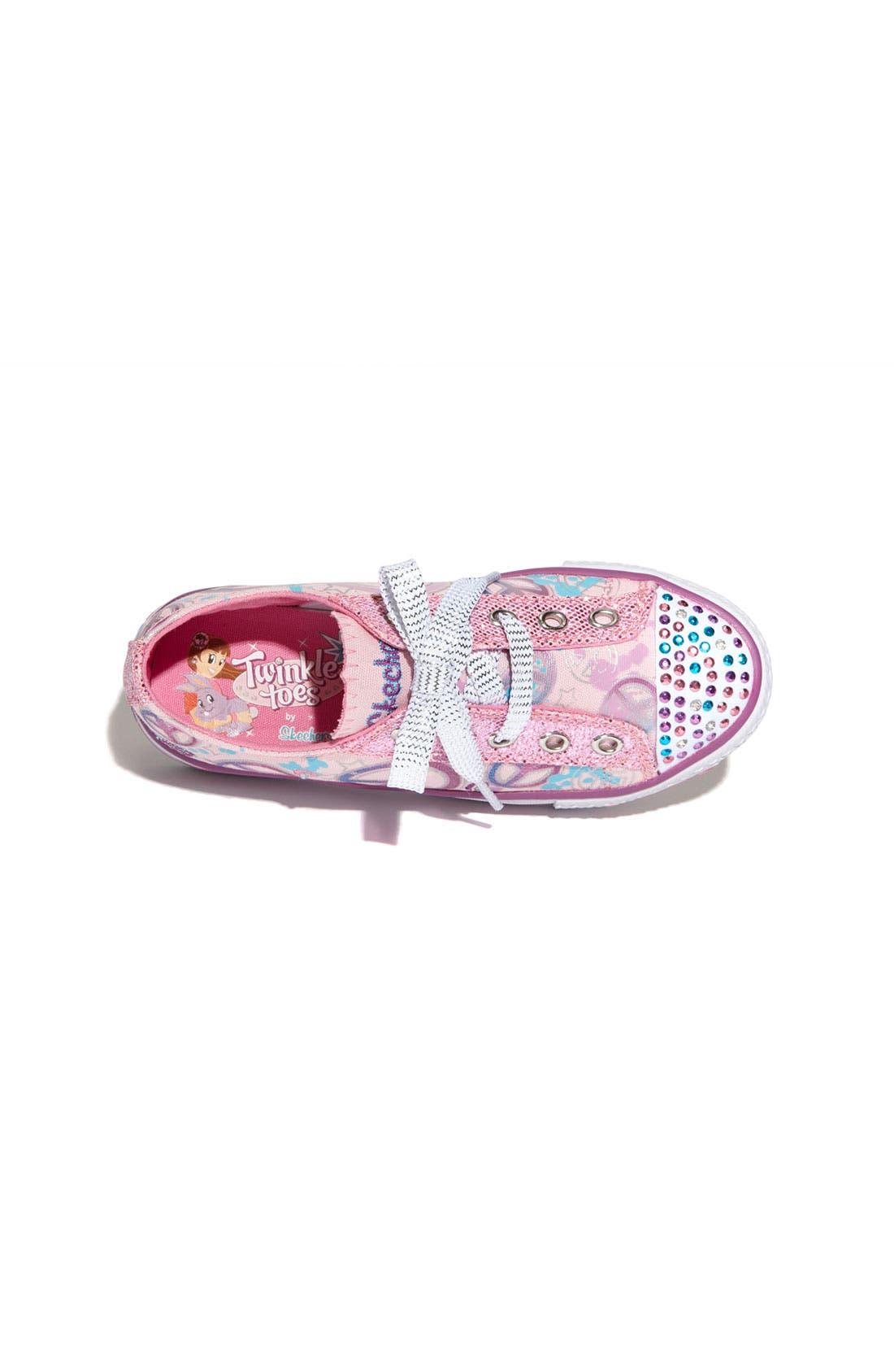 Alternate Image 3  - SKECHERS 'Lovable' Sneaker (Toddler & Little Kid)