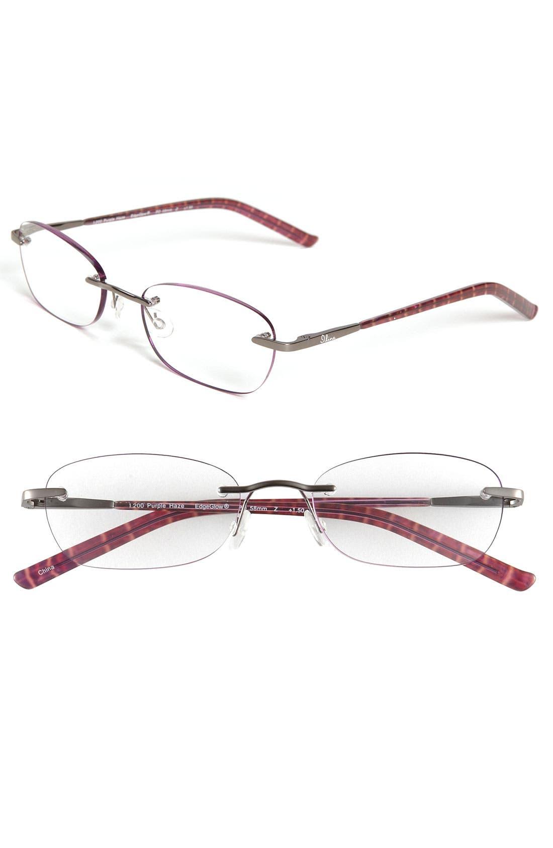 Main Image - I Line Eyewear 'Purple Haze' EdgeGlow® Reading Glasses