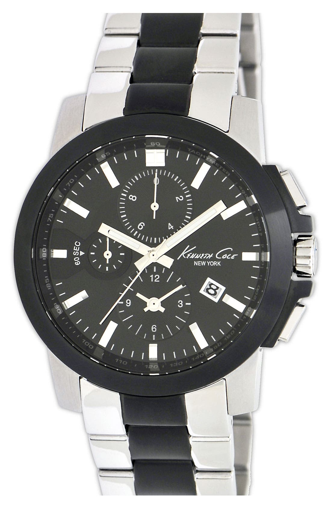Main Image - Kenneth Cole New York Two Tone Bracelet Watch