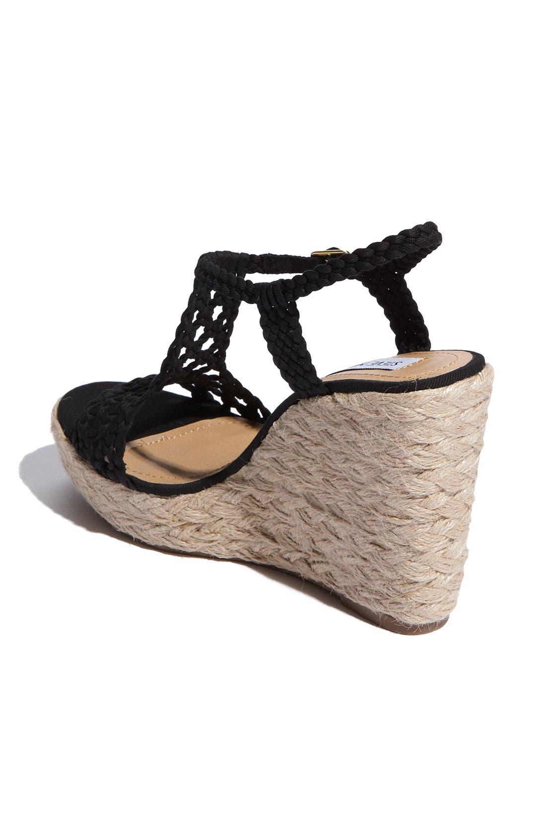Alternate Image 2  - Steve Madden 'Manngo' Woven Sandal