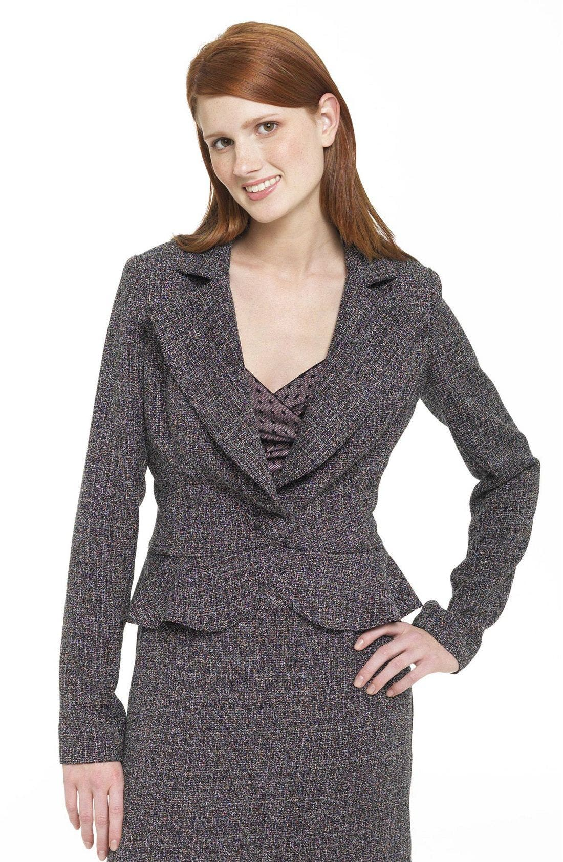 Alternate Image 1 Selected - Necessary Objects™  Tweed Jacket