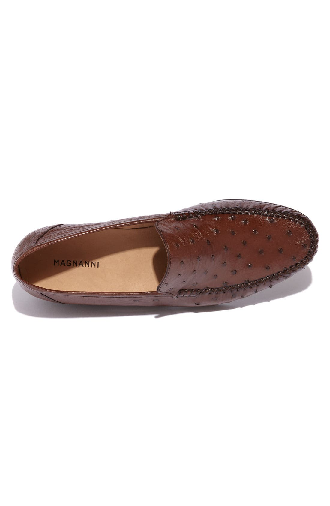 Alternate Image 3  - Magnanni 'Solea' Ostrich Loafer