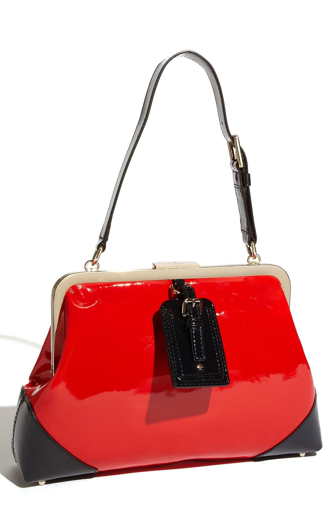 Main Image - kate spade new york 'barclay street - parker' patent leather shoulder bag