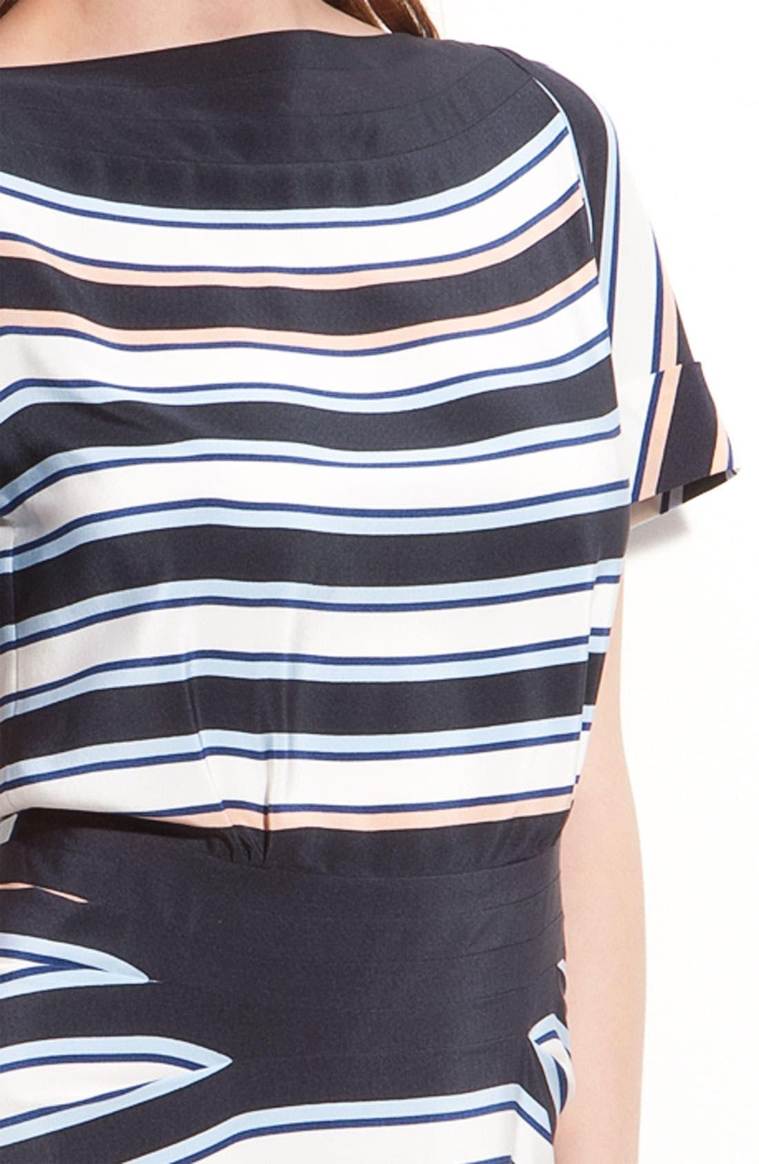 Alternate Image 3  - MARC BY MARC JACOBS 'Jacobson' Stripe Silk Dress