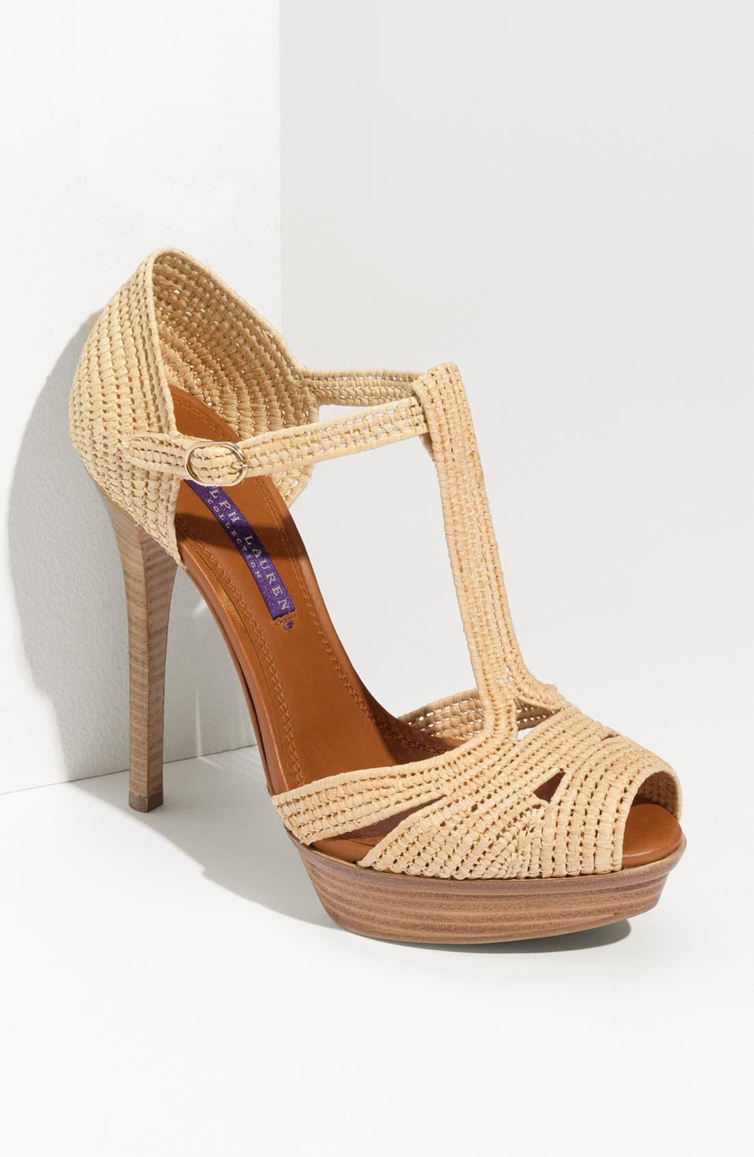 Alternate Image 1 Selected - Ralph Lauren Collection 'Jedina' Sandal
