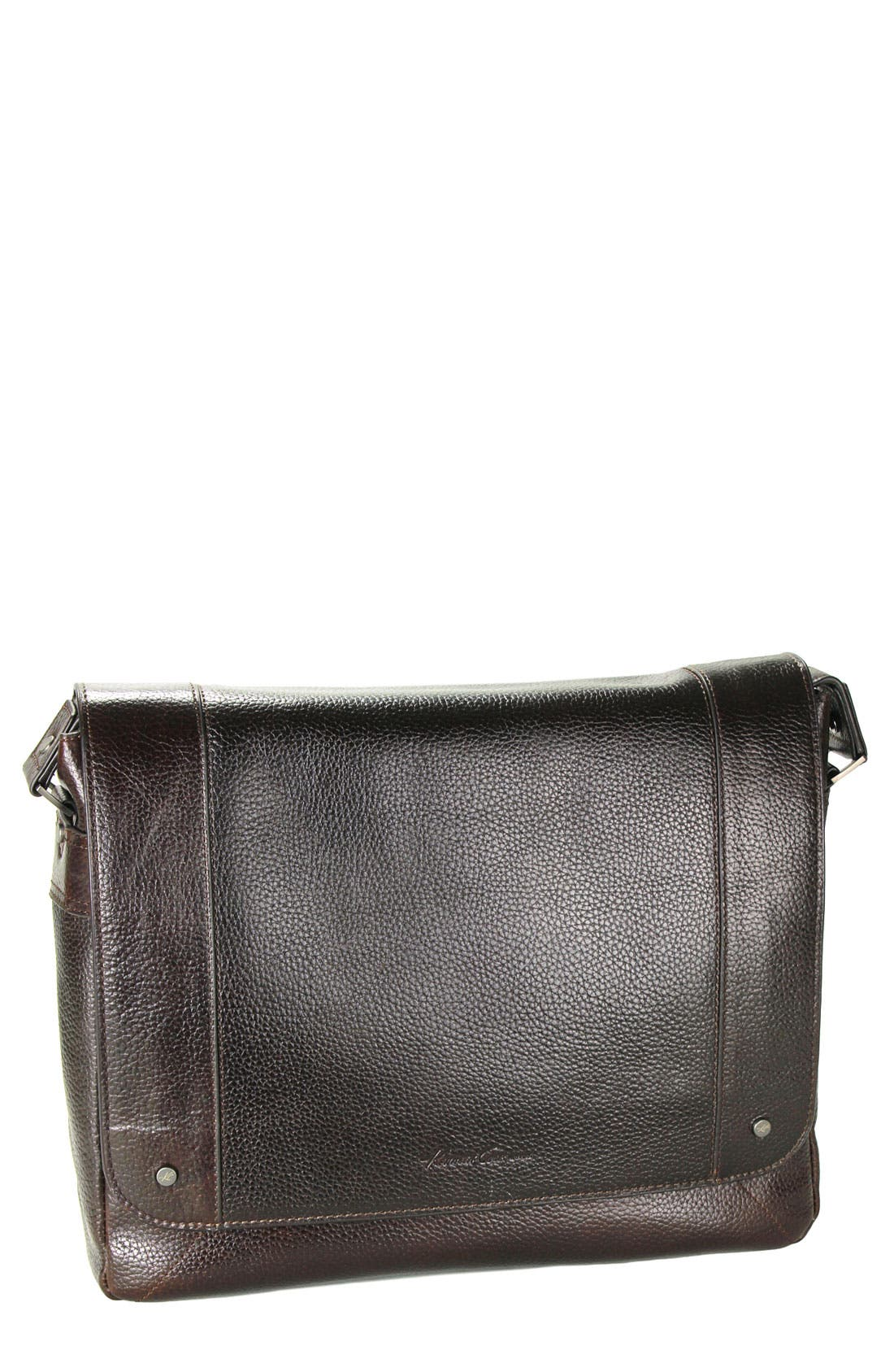 Main Image - Kenneth Cole New York 'Heritage' Leather Messenger Bag