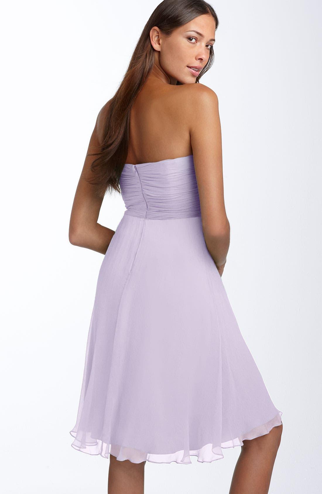 Alternate Image 2  - Donna Morgan Twist Detail Chiffon Dress