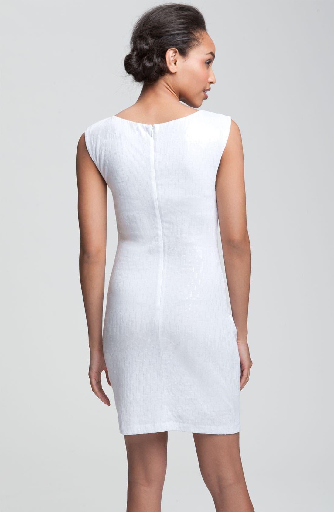 Alternate Image 2  - Alexia Admor Sequined Jersey Knit Sheath Dress