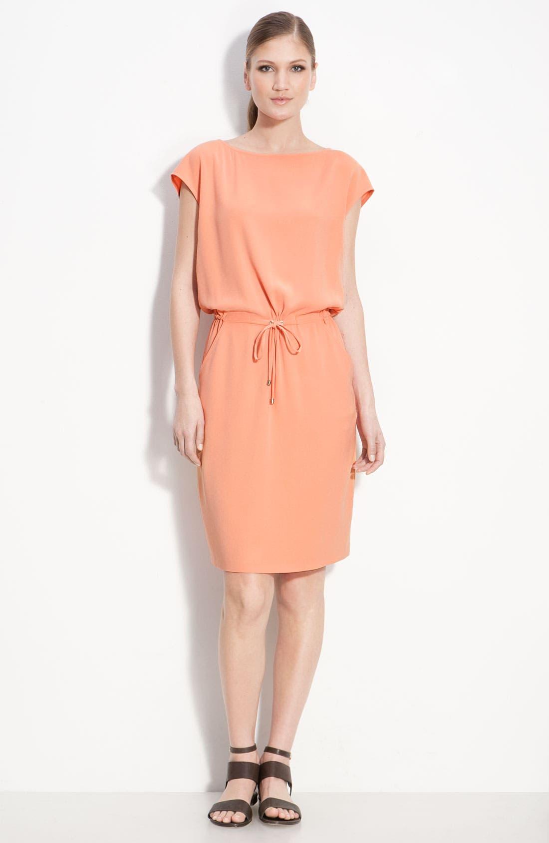 Alternate Image 1 Selected - St. John Collection Bateau Neck Dress