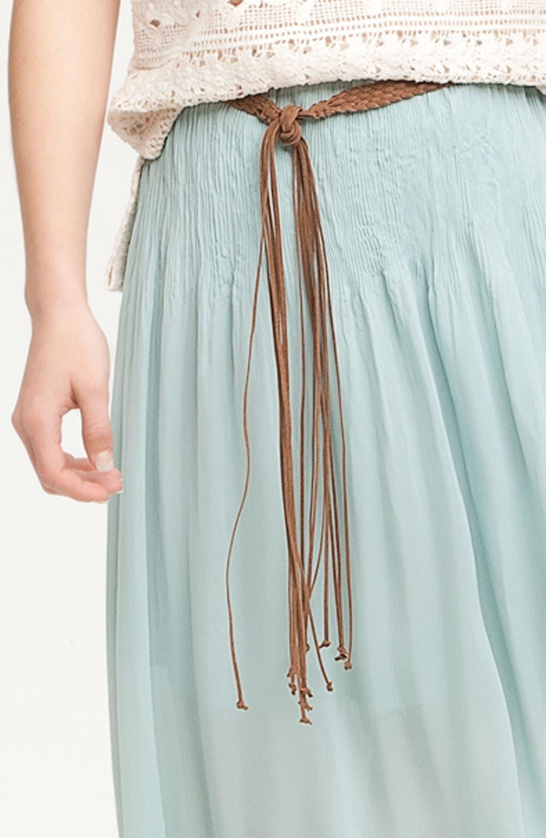 Alternate Image 3  - Sanctuary 'Leotie' Crinkled Asymmetric Maxi Skirt