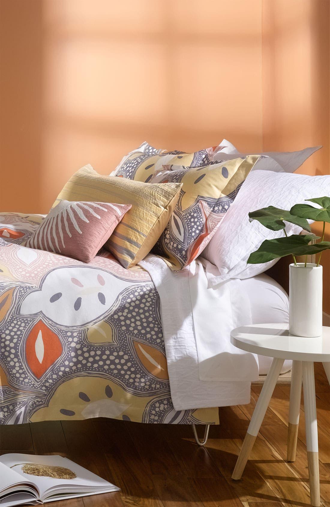 Alternate Image 3  - Diane von Furstenberg 'Twig' Matelassé Euro Pillow Sham