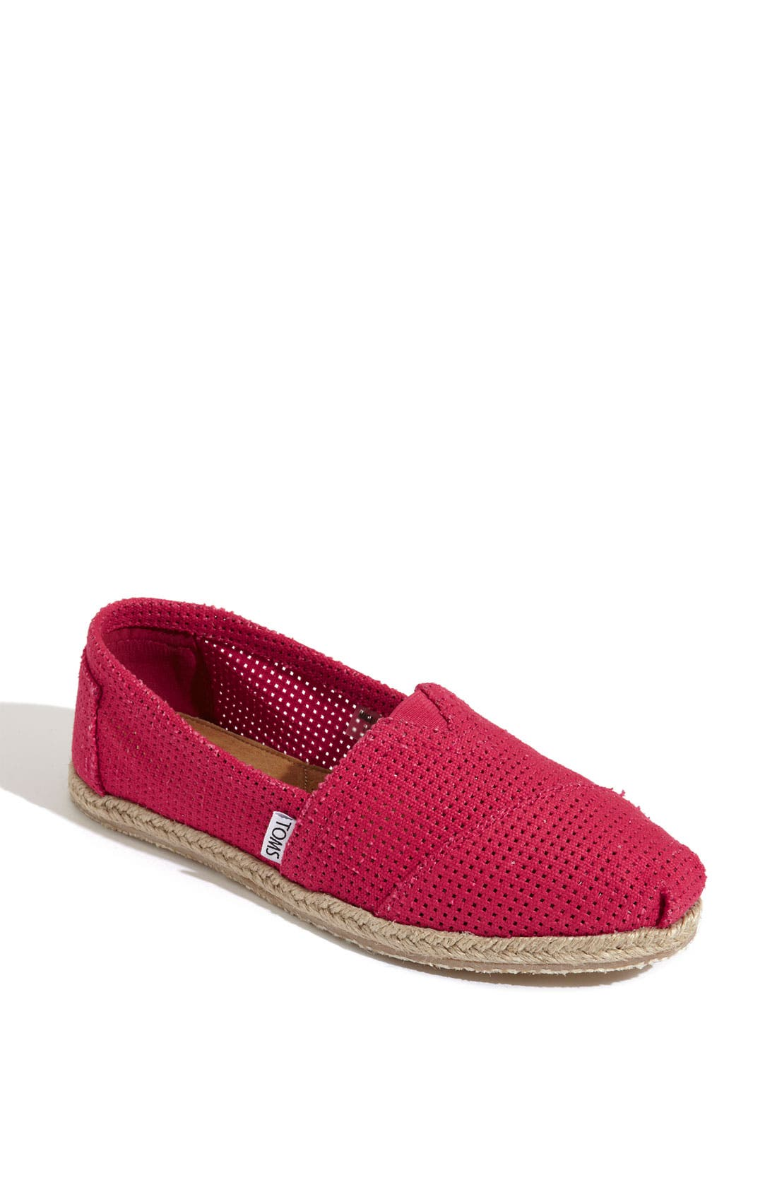 Alternate Image 1 Selected - TOMS 'Freetown - Classic' Espadrille Slip-On (Women)