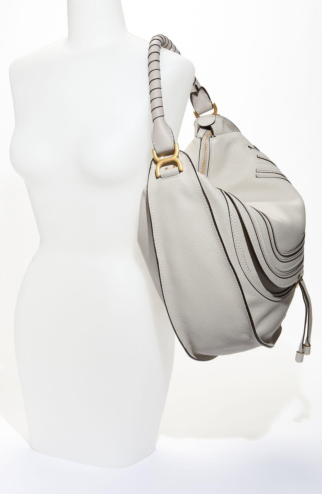 Alternate Image 2  - Chloé 'Marcie - Large' Leather Hobo