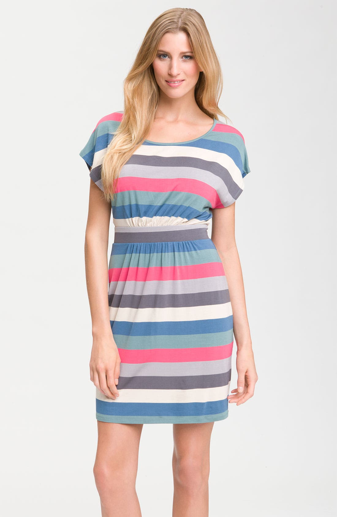 Main Image - Felicity & Coco Stripe Knit Dress (Nordstrom Exclusive)