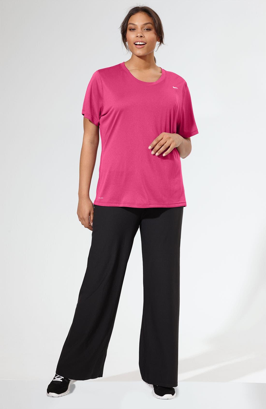 Alternate Image 4  - Nike 'Legend' Pants (Plus Size)