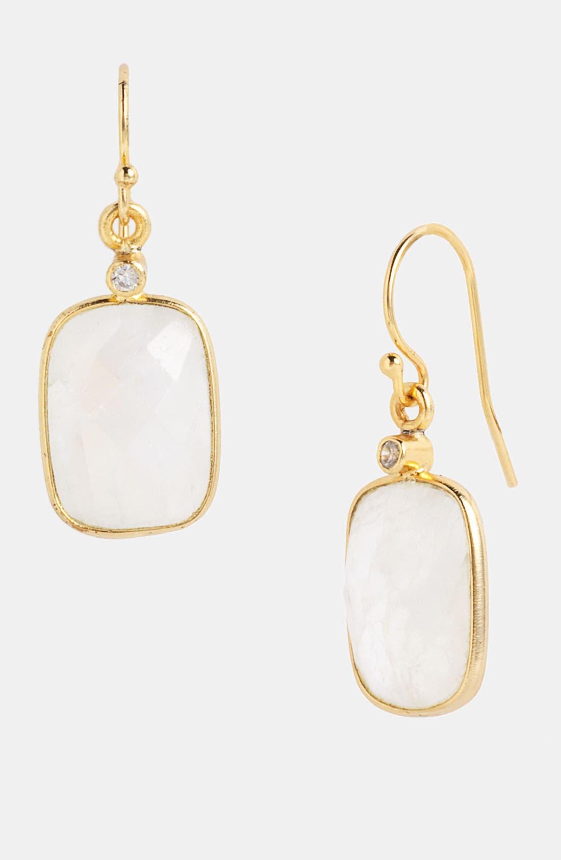 Main Image - NuNu Designs Rectangular Drop Earrings