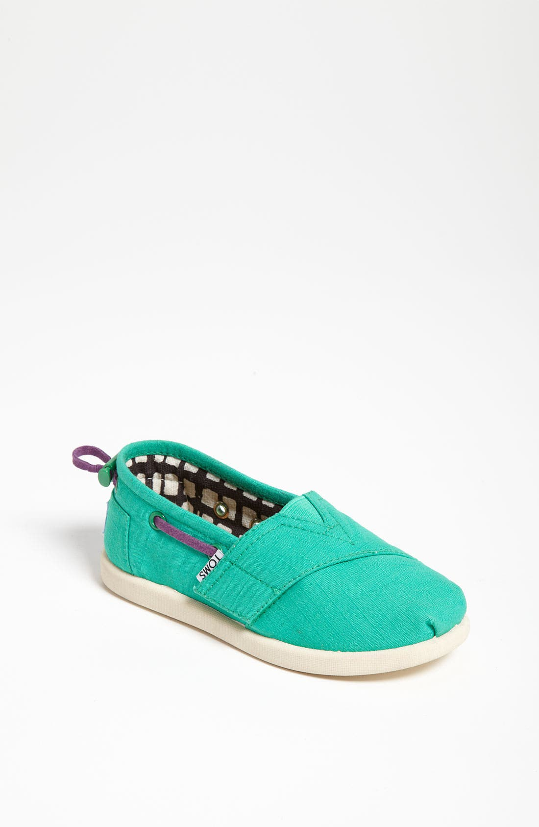 Main Image - TOMS 'Classic Tiny - Bimini' Slip-On (Baby, Walker & Toddler)