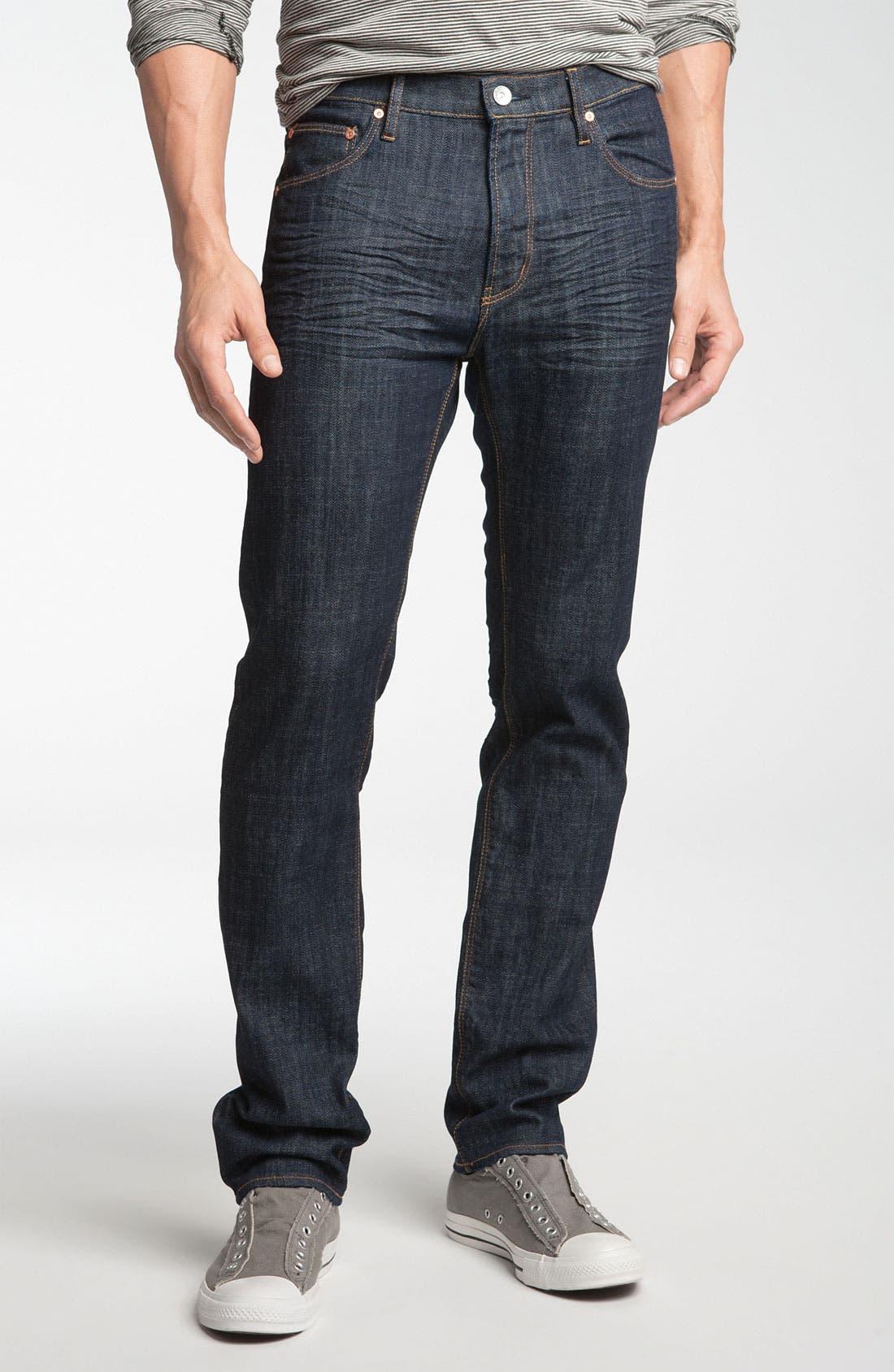 Alternate Image 2  - WeSC 'Eddy' Slim Fit Jeans (Bright)