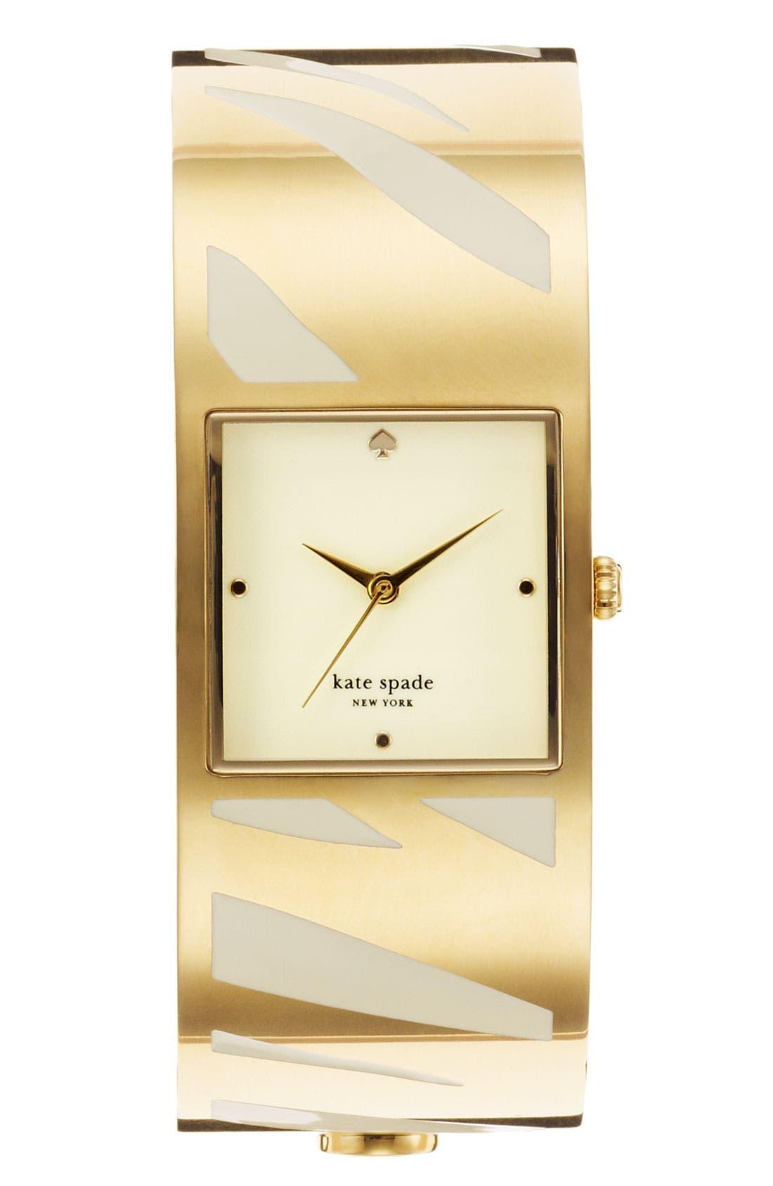 Main Image - kate spade new york 'delacorte' bangle watch, 20mm