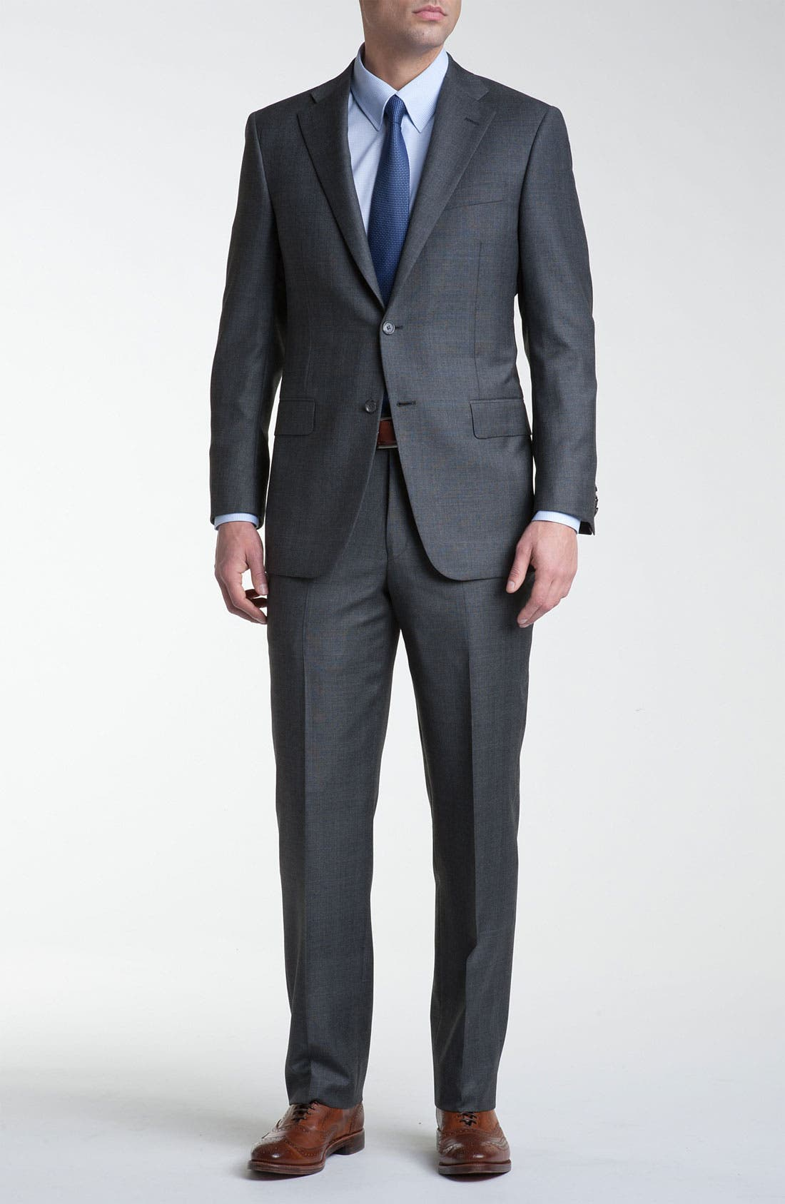 Main Image - Hickey Freeman 'GlenPlaid' Wool Suit