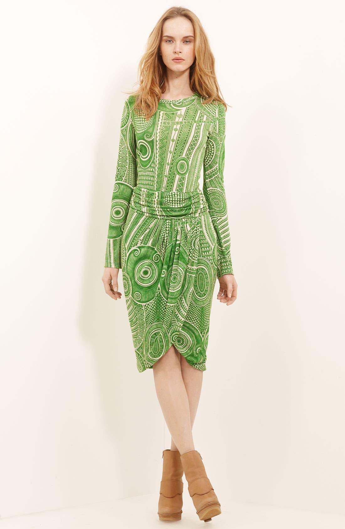 Alternate Image 1 Selected - Jean Paul Gaultier Fuzzi Print Tulle Dress