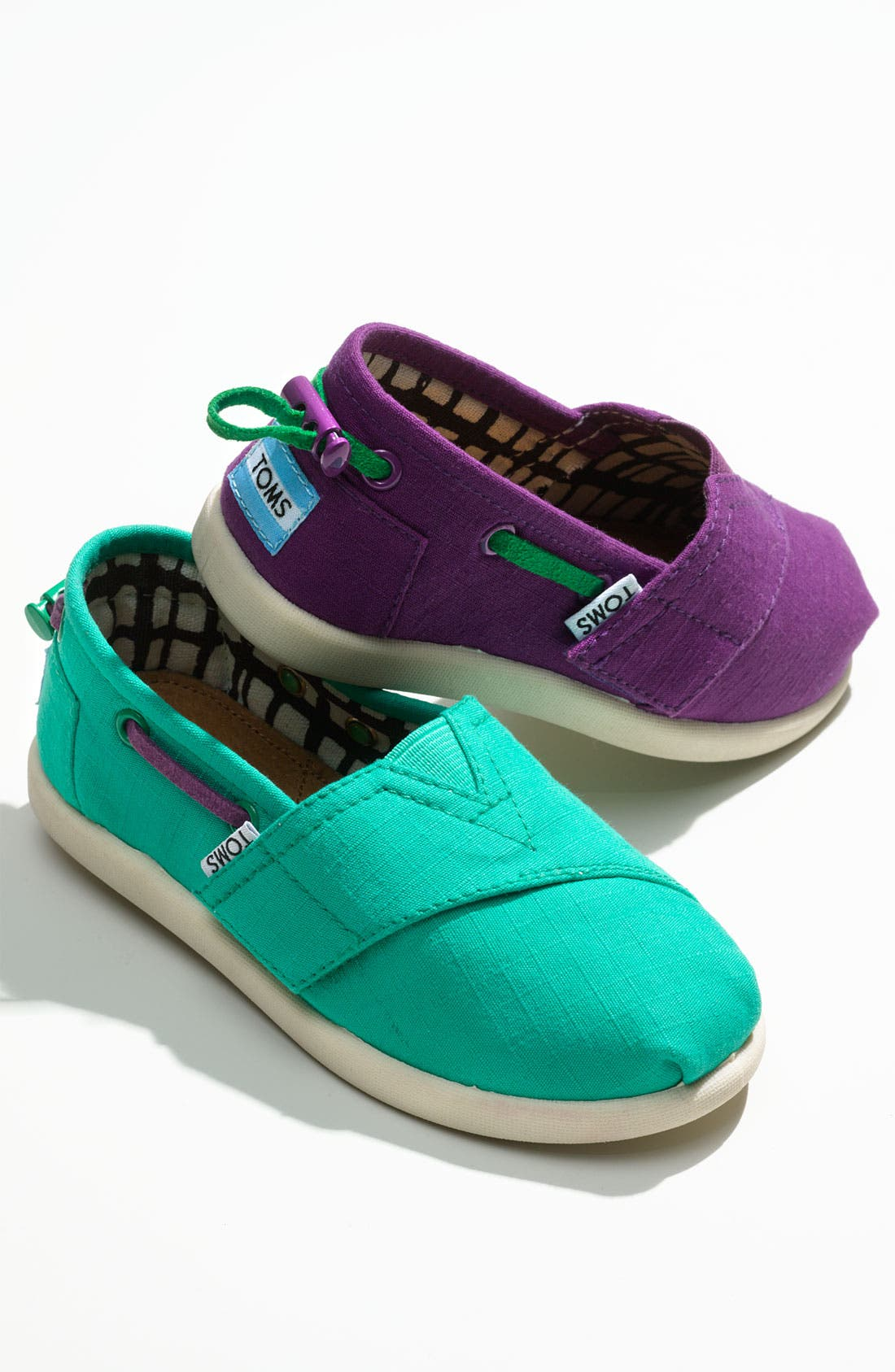 Alternate Image 5  - TOMS 'Classic Tiny - Bimini' Slip-On (Baby, Walker & Toddler)