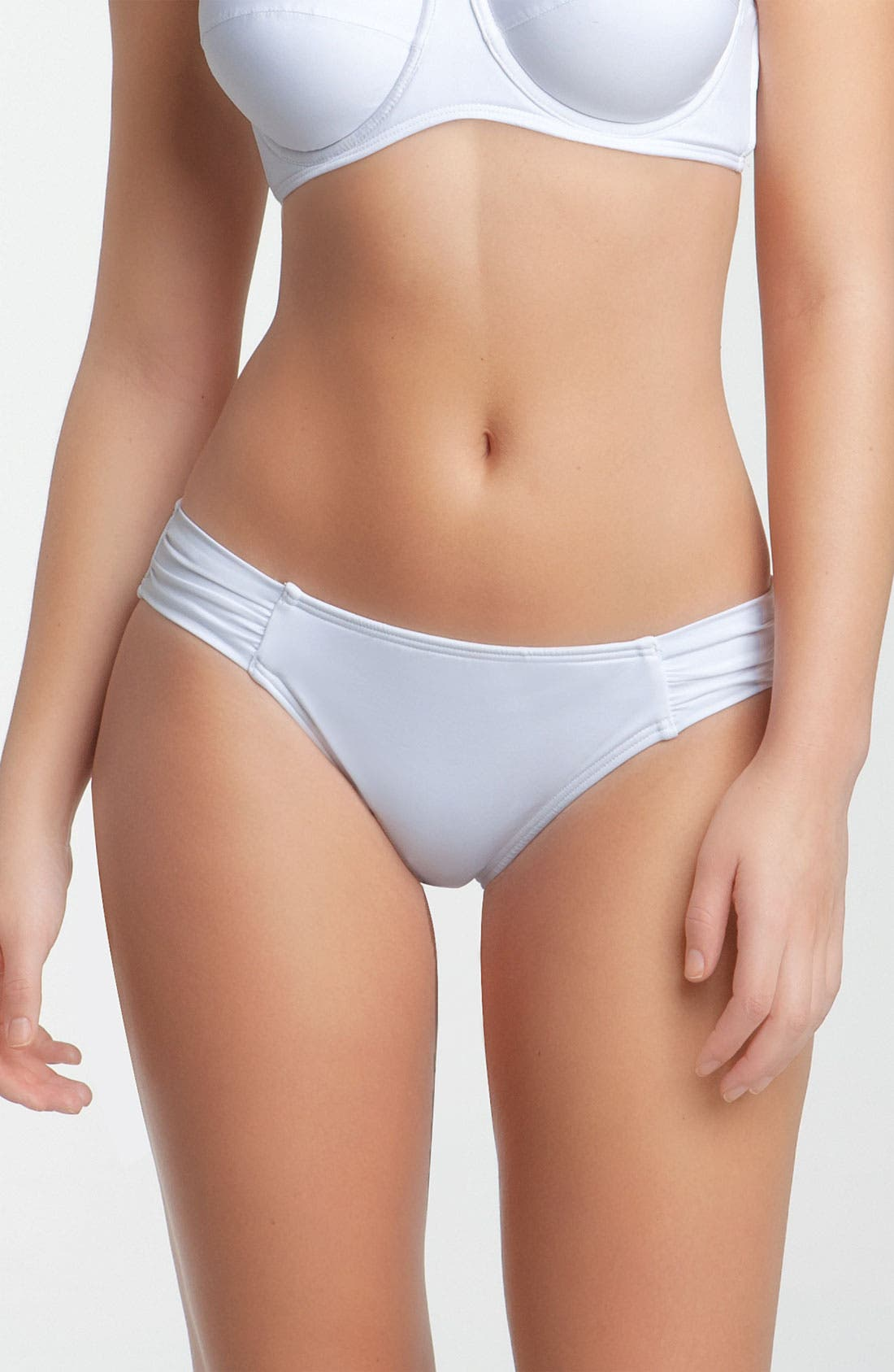 Alternate Image 1 Selected - Tommy Bahama 'Pearl' Side Shirred Bikini Bottoms