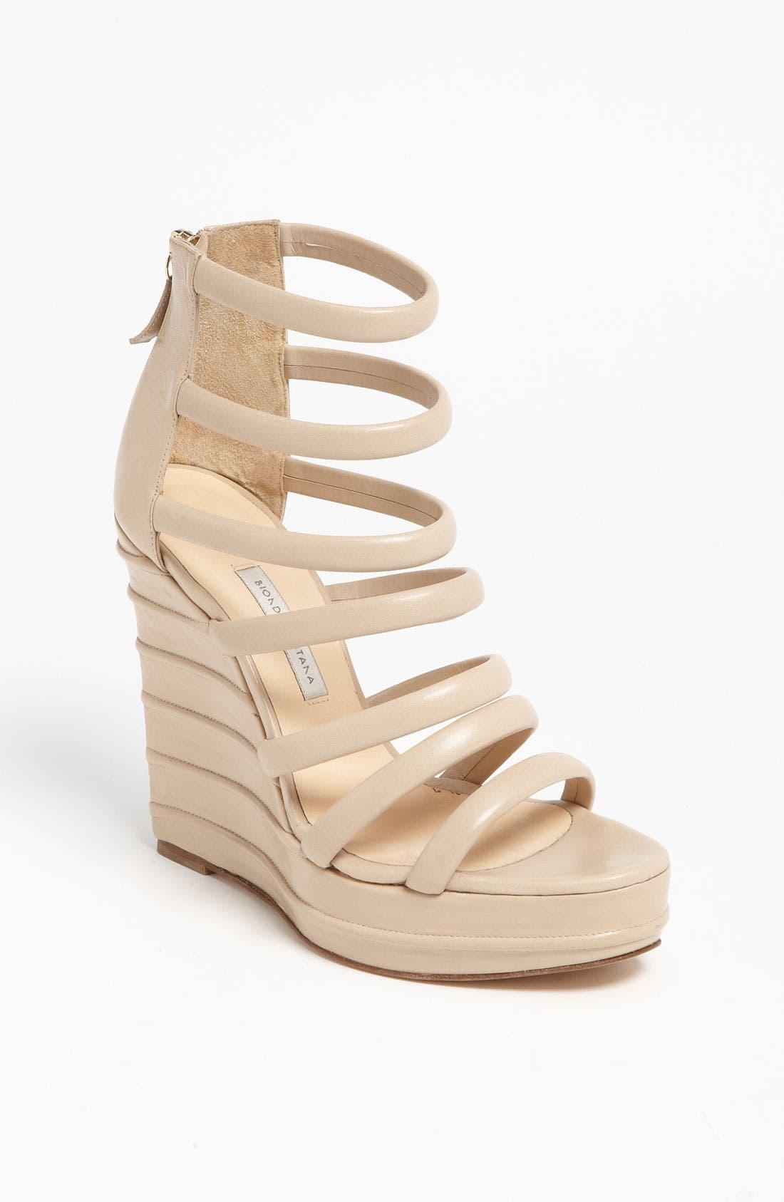 Alternate Image 1 Selected - Bionda Castana Zip Sandal