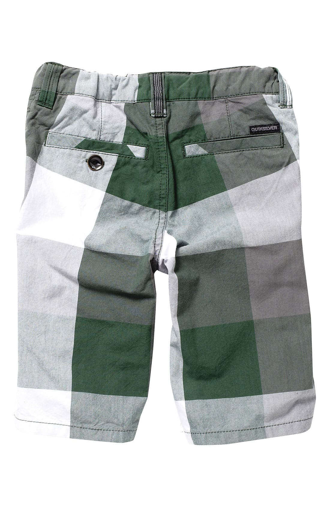 Alternate Image 2  - Quiksilver 'Colossal' Plaid Shorts (Toddler)