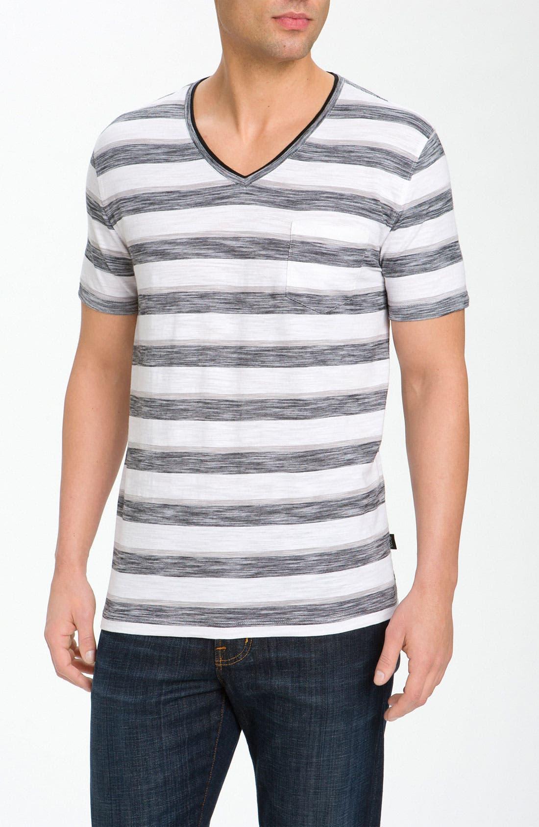 Alternate Image 1 Selected - BOSS Black 'Eraldo' V-Neck T-Shirt