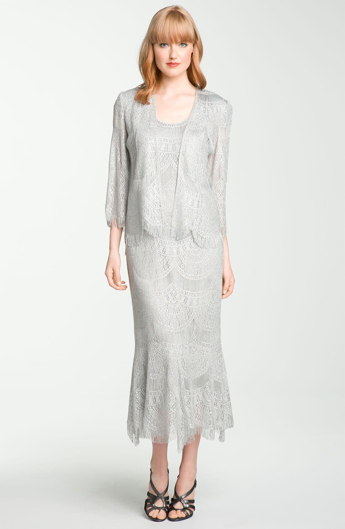 Main Image - Damianou Lace Dress & Jacket