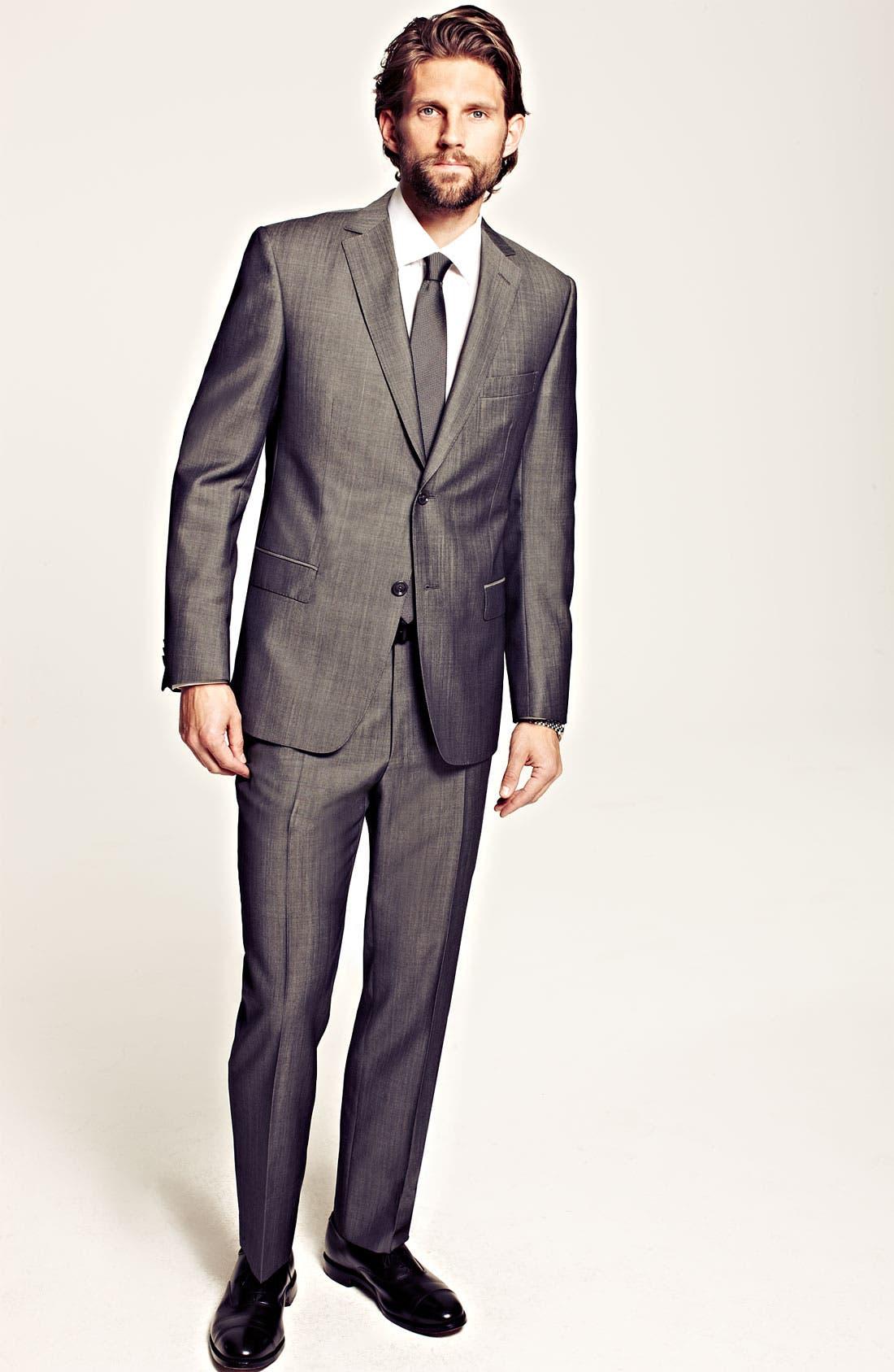 Alternate Image 7  - Z Zegna Trim Fit Wool Suit