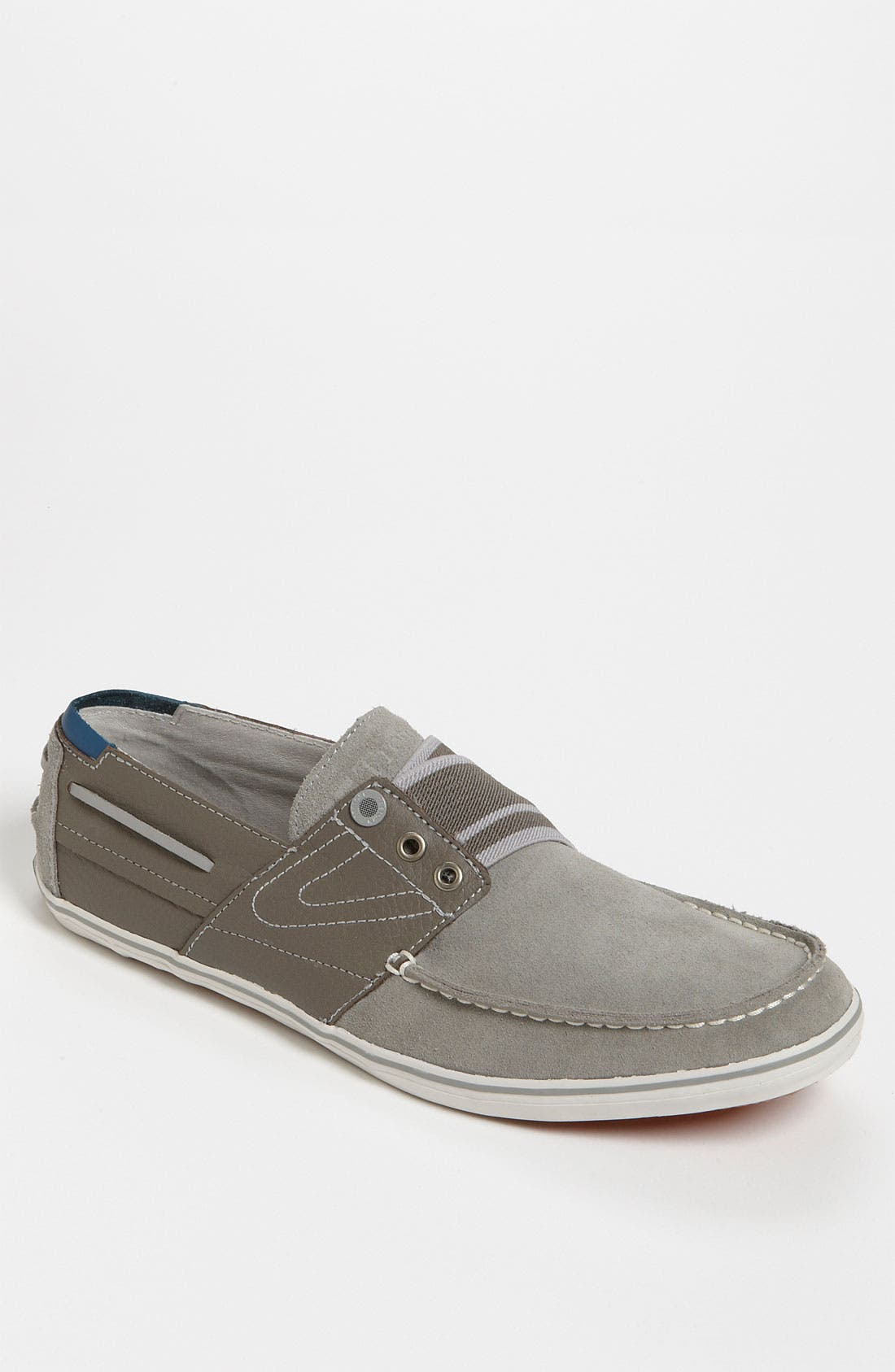 Main Image - Tretorn 'Smogensson' Suede & Leather Slip-On