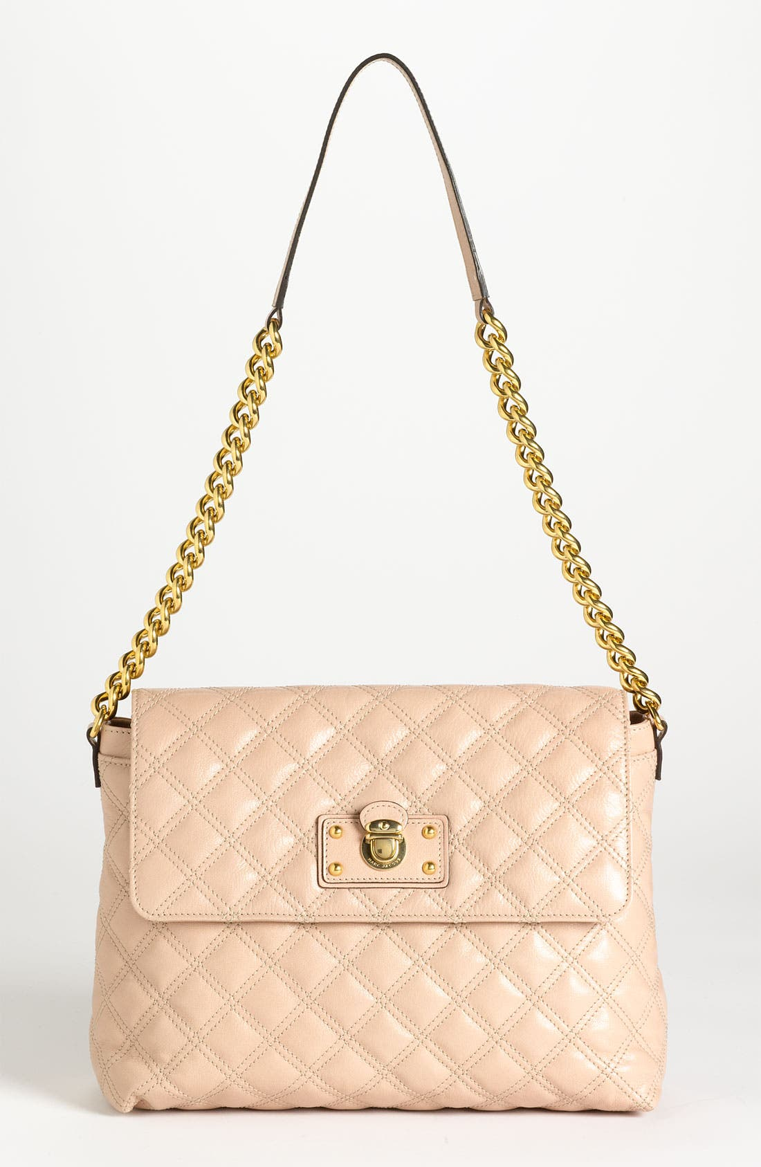 Alternate Image 1 Selected - MARC JACOBS 'The XL Single' Leather Shoulder Bag