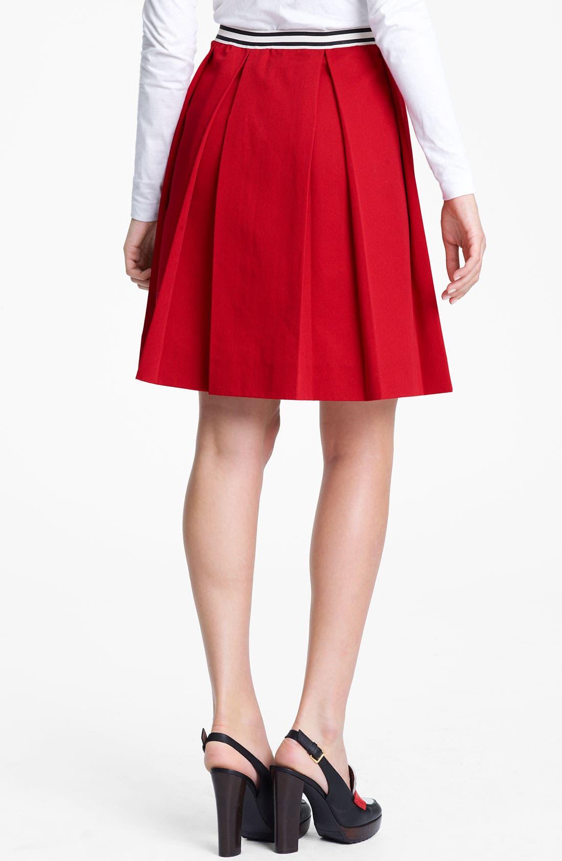 Alternate Image 2  - Marni Edition Contrast Waist Gabardine Skirt