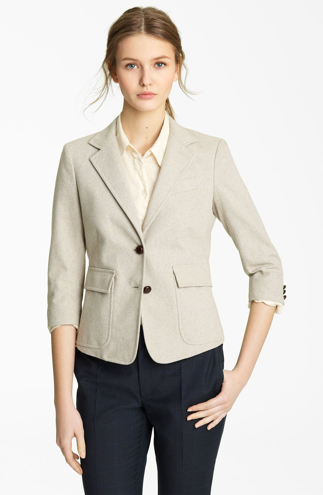 Alternate Image 1 Selected - Band of Outsiders Twill Blazer
