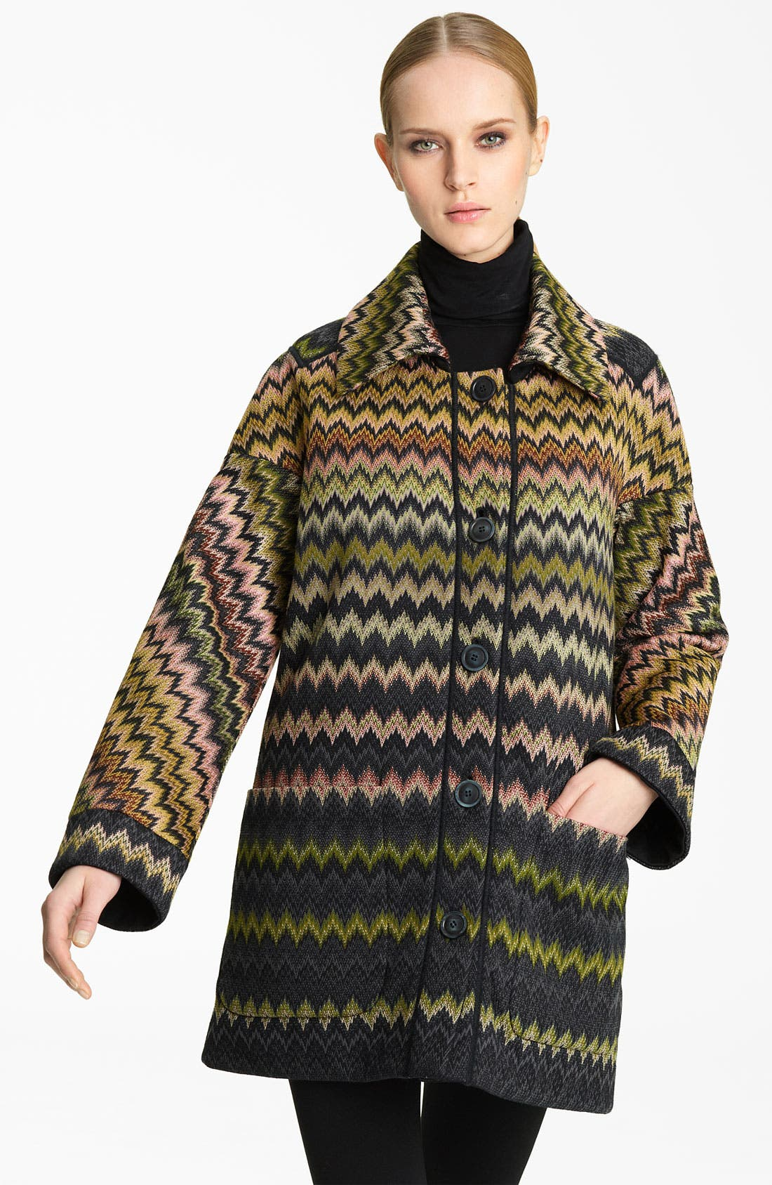 Alternate Image 1 Selected - Missoni Zigzag Coat