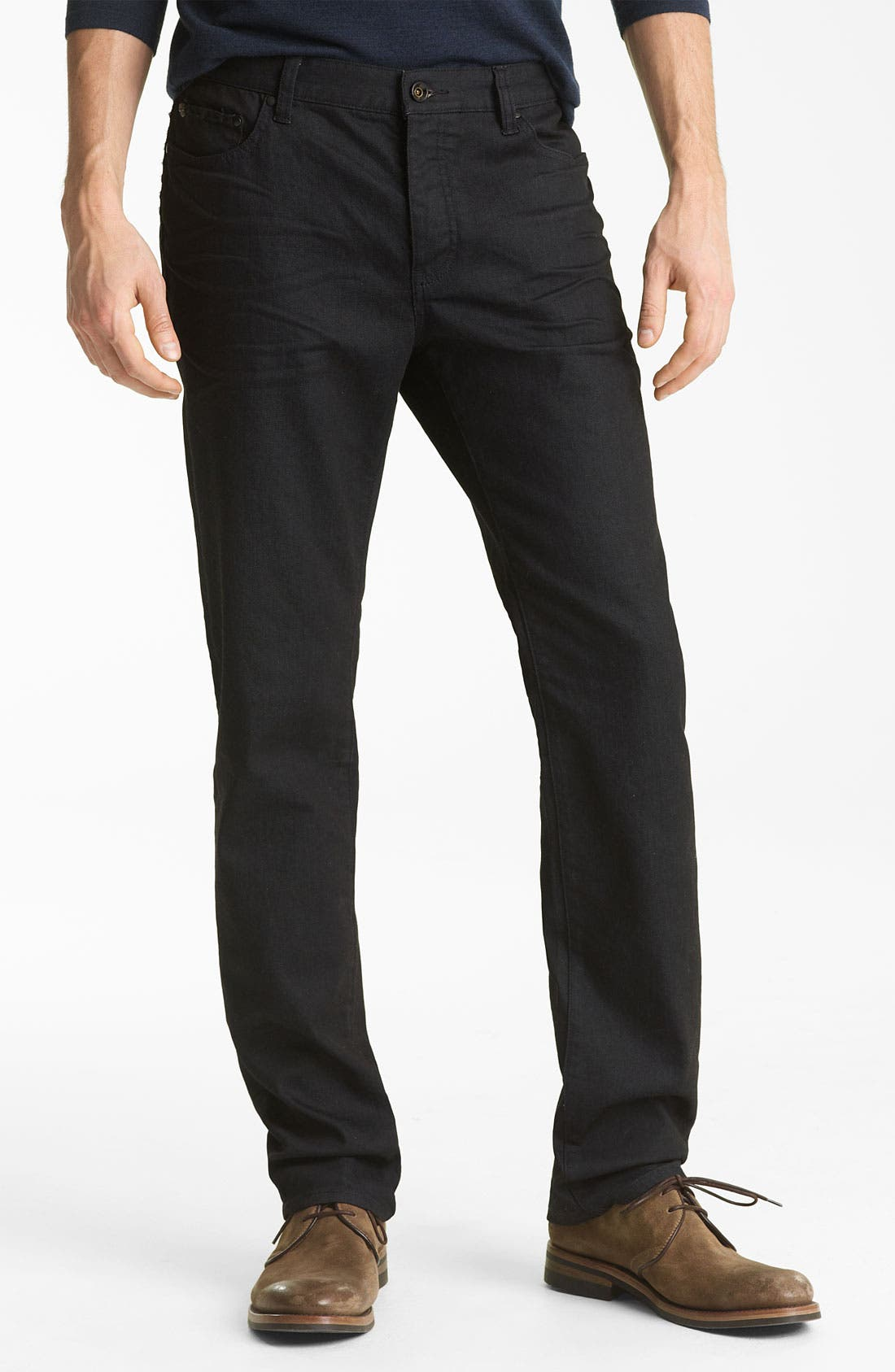 Alternate Image 1 Selected - John Varvatos Collection Slim Fit Jeans (Navy Wash)