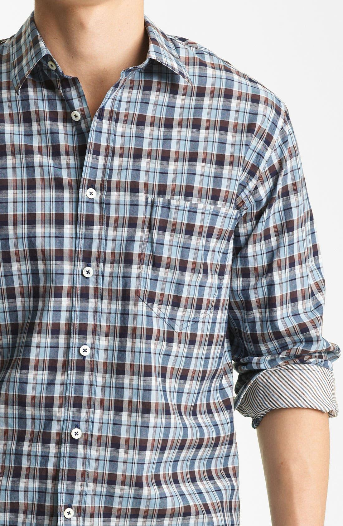 Alternate Image 3  - Billy Reid 'Bagwelt' Plaid Woven Shirt