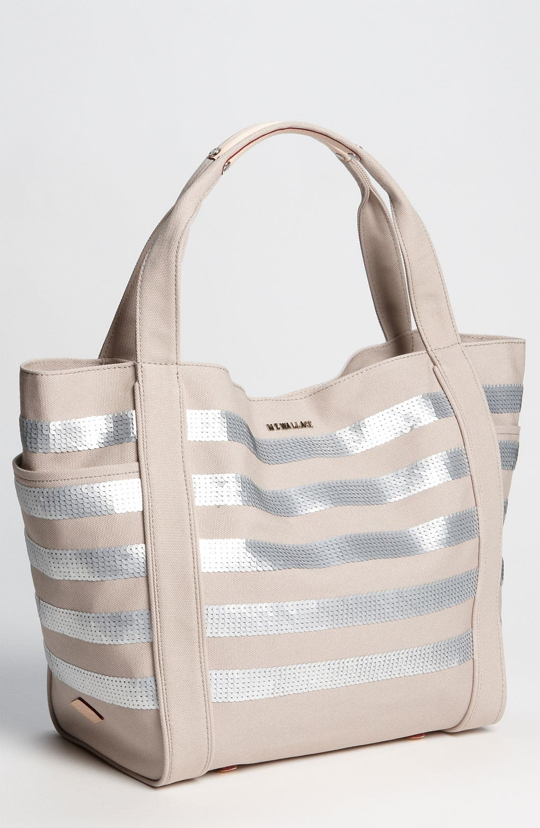 Main Image - MZ Wallace 'Ava' Sequined Canvas Tote
