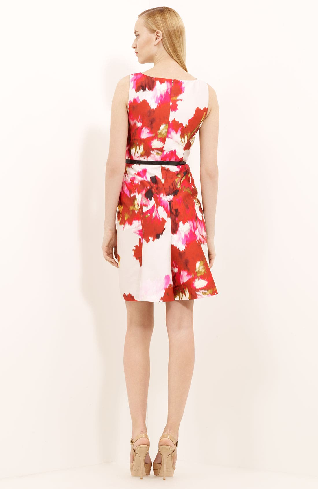 Alternate Image 2  - Max Mara 'Dimitri' Print Silk & Cotton Dress