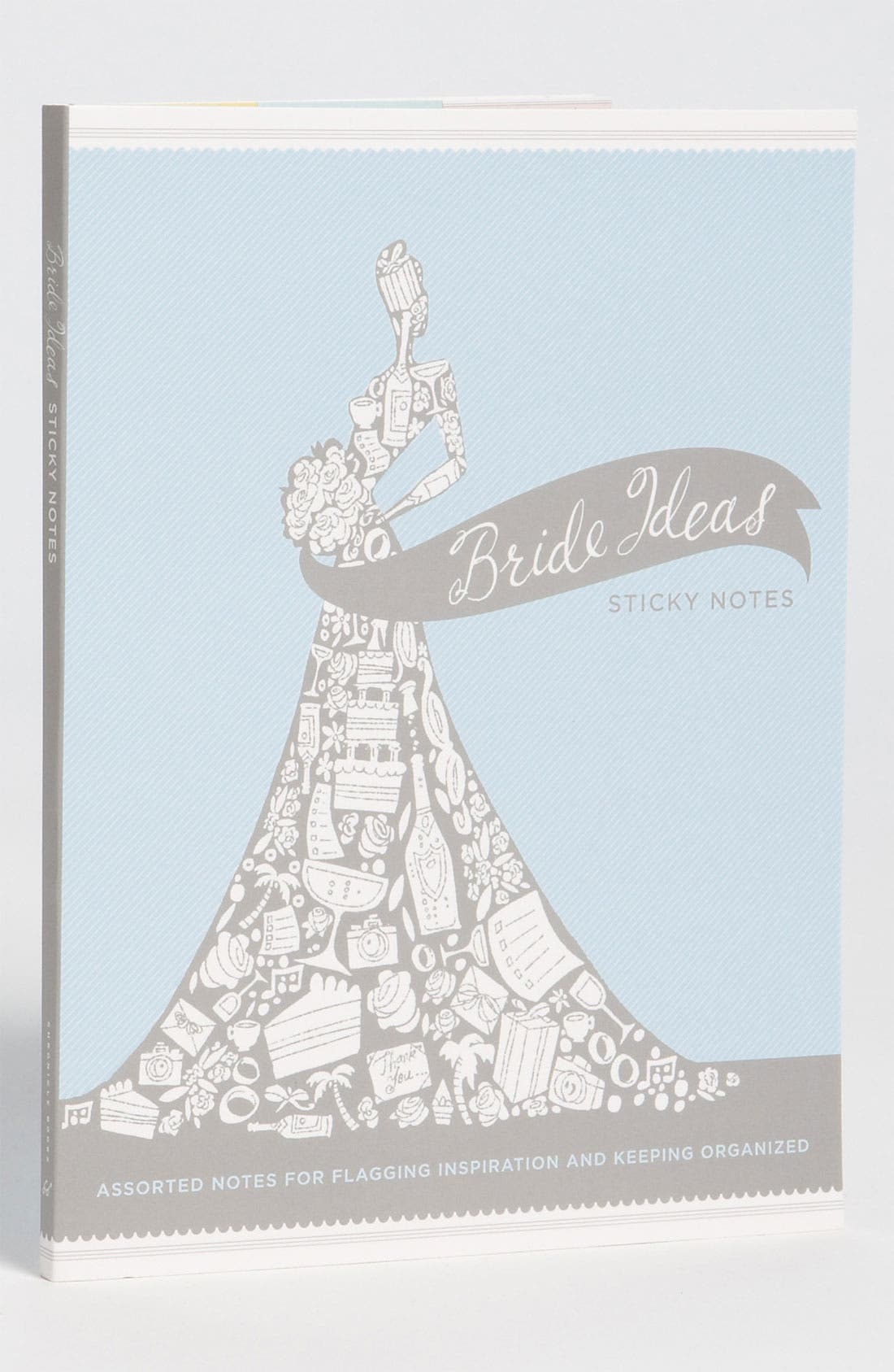 Alternate Image 1 Selected - 'Bride Ideas' Sticky Notes